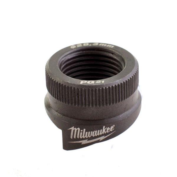 Milwaukee 4932430845 Hullstanser for rustfritt og mykt stål PG21
