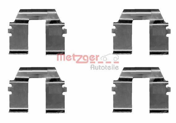 Tarvikesarja, jarrupala METZGER 109-1232