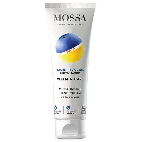 VITAMIN CARE Moisturising Hand Cream, 75 ml MOSSA Käsienhoito