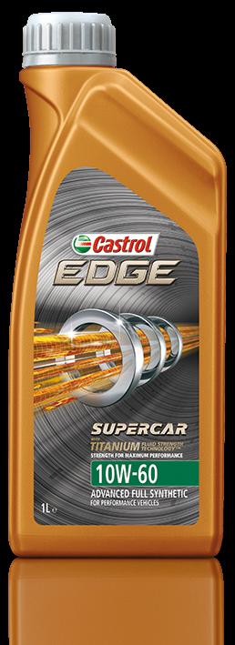 Moottoriöljy CASTROL 10W60 EDGE TITANIUM FST SUPERCAR 1L