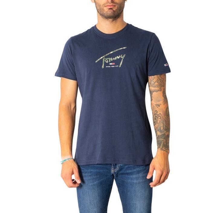 Tommy Hilfiger Jeans Men's T-Shirt Various Colours 308074 - blue S