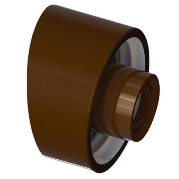 Ifö Electric 52741-000-14 Sokkel 84,5 mm, brun Skrå