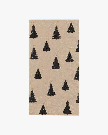 Paperiservetit, Trees