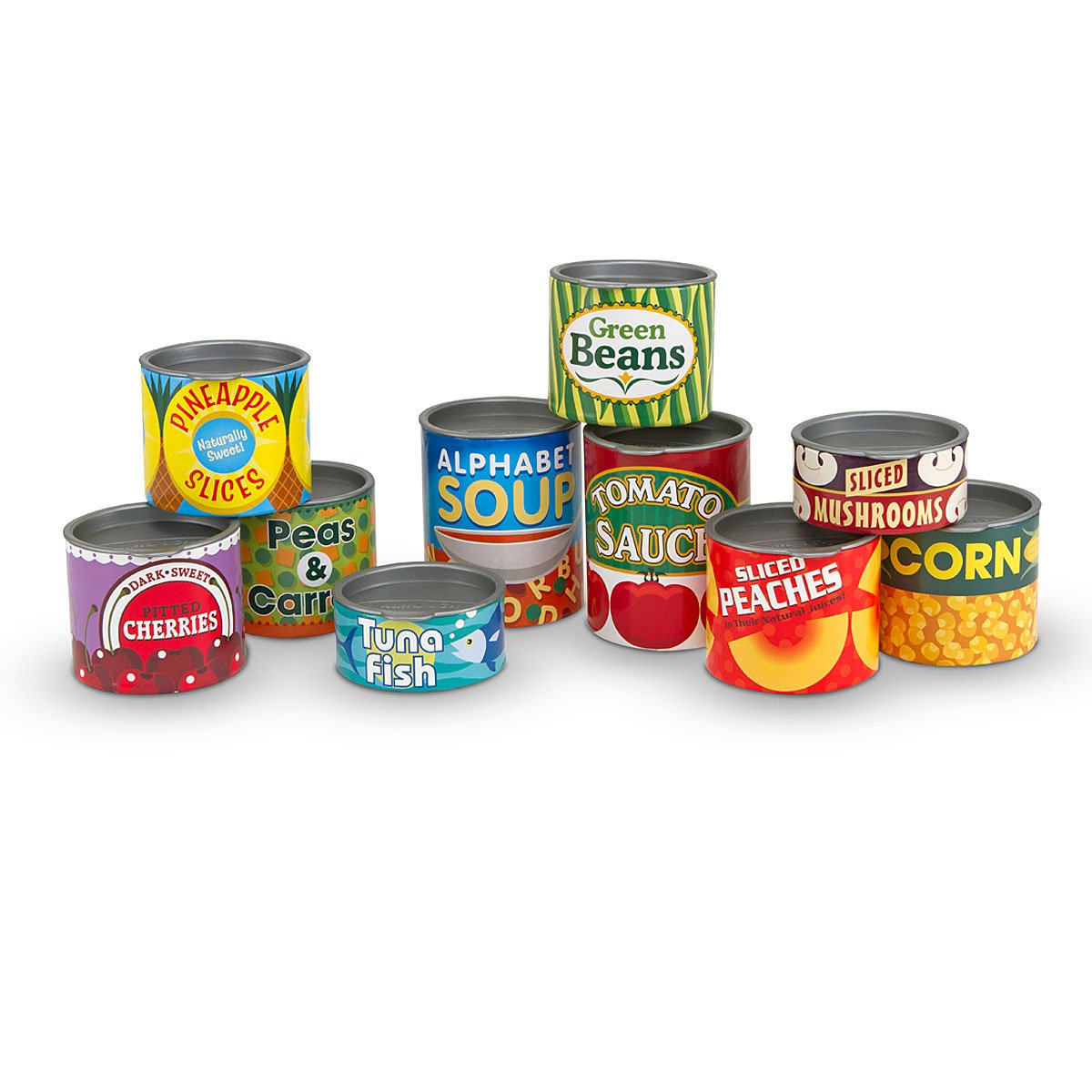 Melissa & Doug - Canned Food Playset (14088)