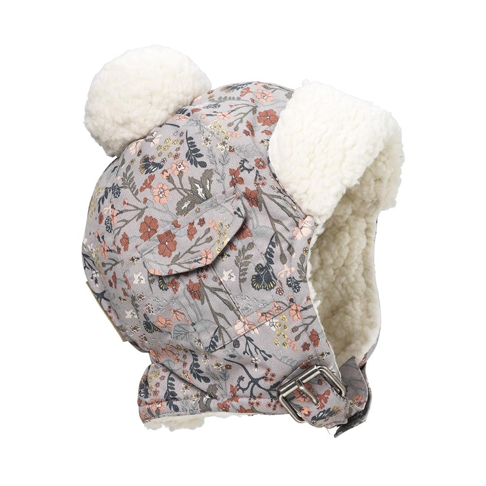 Winter Hat - Vintage Flower