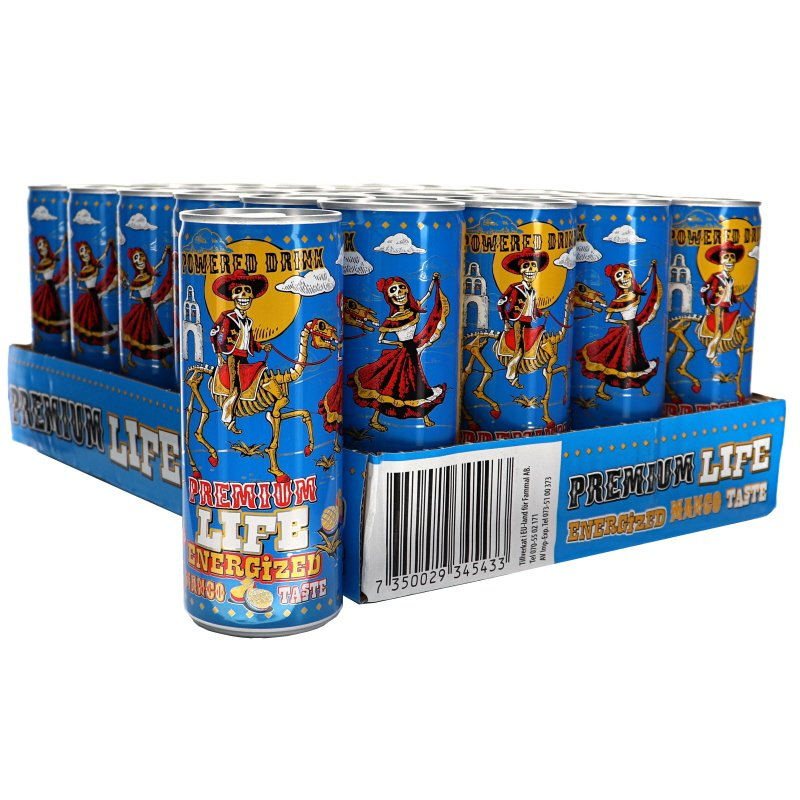 Energidryck Mango 24-pack - 34% rabatt
