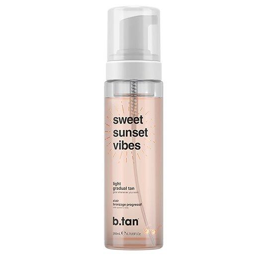Sweet Sunset Vibes, 200 ml b.tan Itseruskettavat