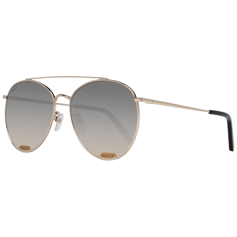 Bally Women's Sunglasses Rose Gold BY0016-D 6028B