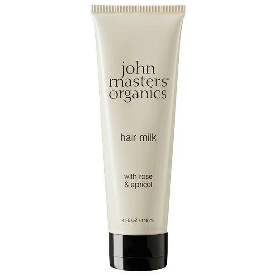 John Masters Organics Hair Milk with Rose & Apricot, 118 ml