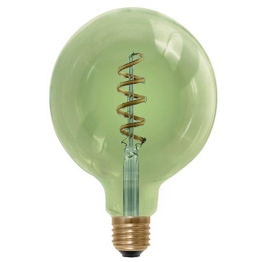LED-pallolamppu E27 6 W 920, savunvihreä