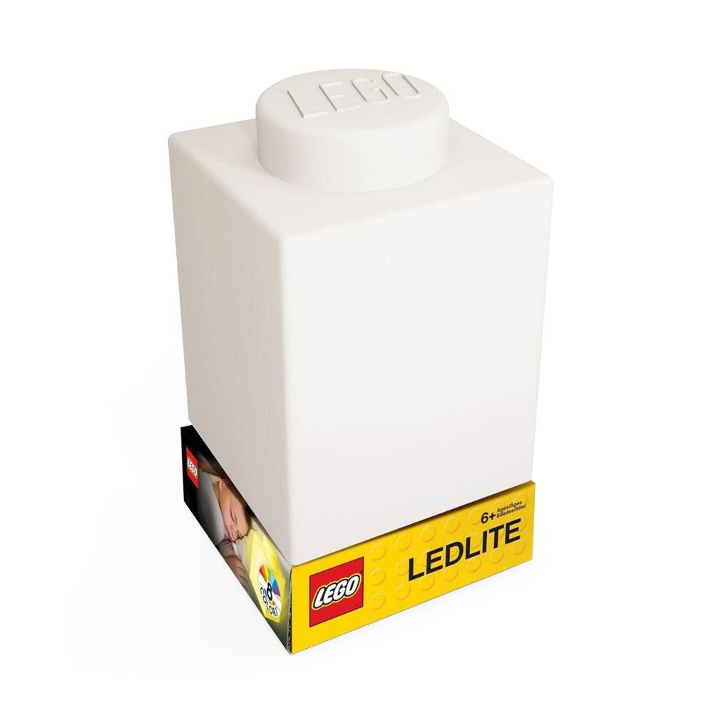 LEGO - Silicone Brick - Night Light w/LED - White