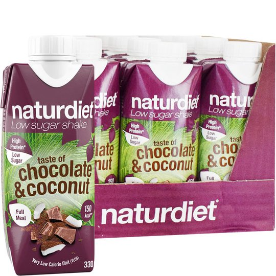 Ruokavalionkorvike Choco & Coco 12kpl - 21% alennus