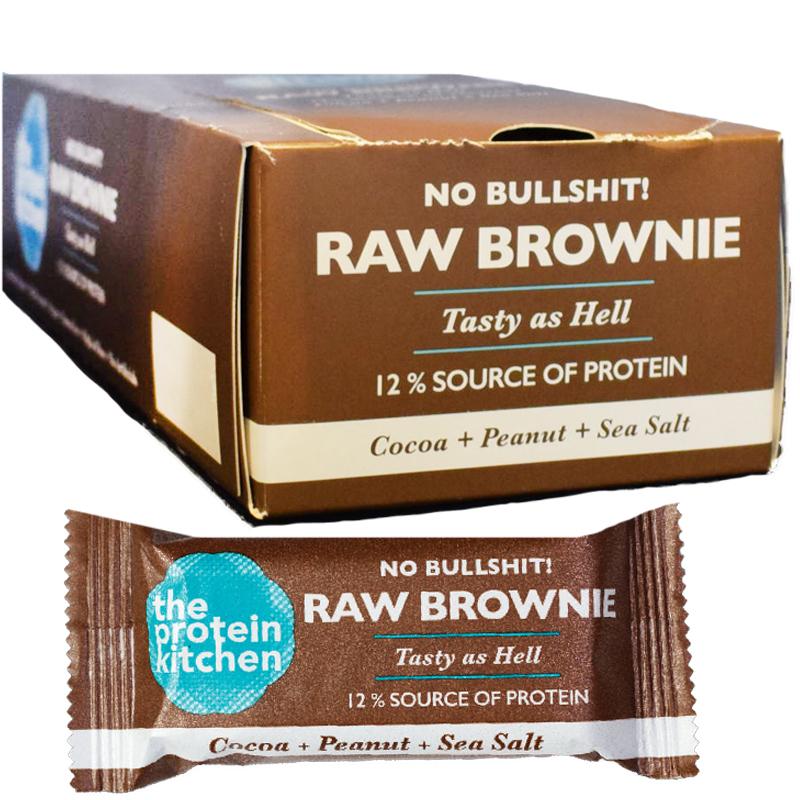 Raw Bar Kakao, Jordnötter & Havssalt 18-pack - 33% rabatt