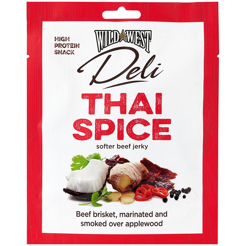 Beef Jerky Thai Spice - 36% rabatt