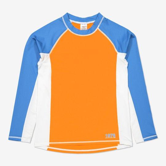 Flerfarget uv-trøye orange