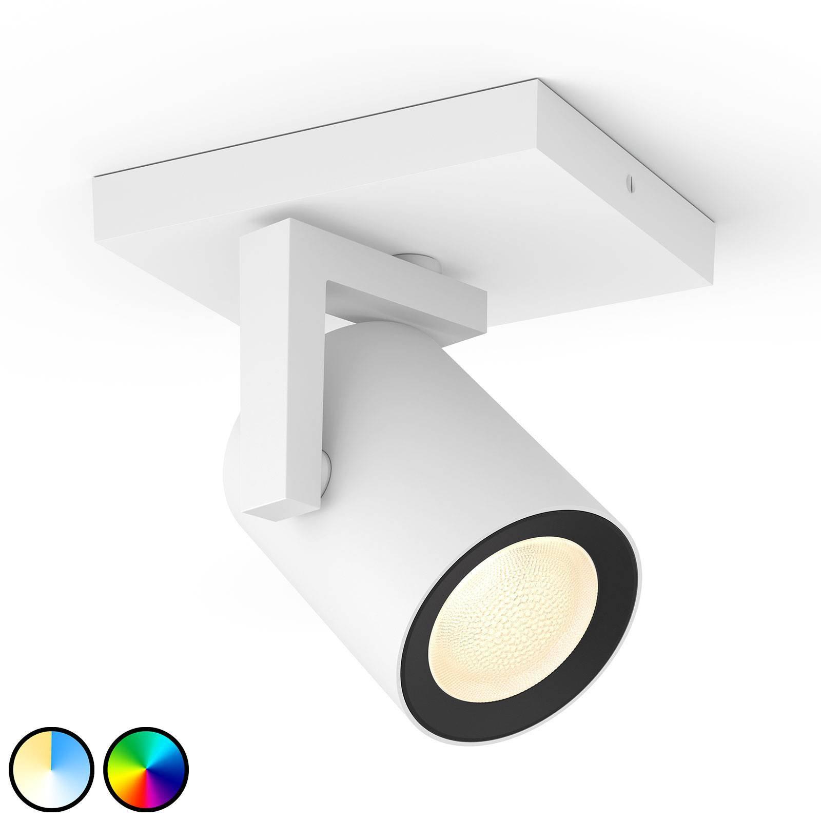 Philips Hue Argenta LED-spot en lyskilde hvit