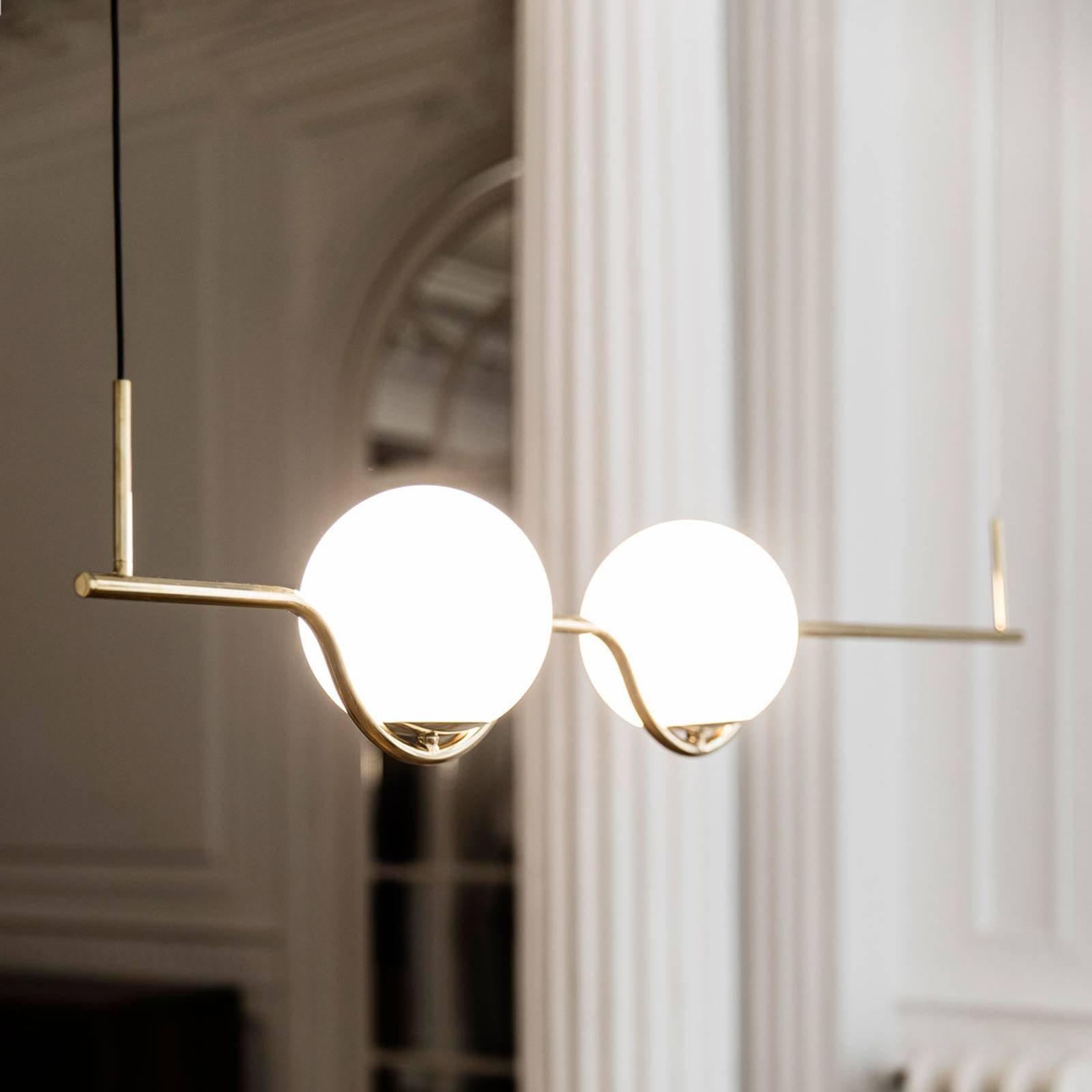 Designer-hengelampe Le Vita, LED, 2 lyskilder