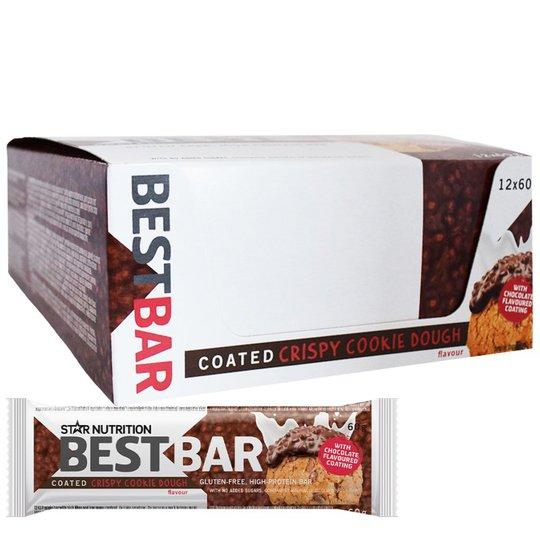"""Hel Låda Proteinbars """"Crispy Cookie Dough"""" 12 x 60g - 59% rabatt"""