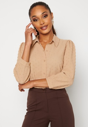 Happy Holly Felicity blouse Beige 52/54