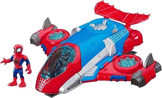 Marvel Super Hero Spider-Man Jetquarters