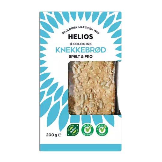 Näkkileipä, speltti ja pellavansiemen 200 g - 67% alennus