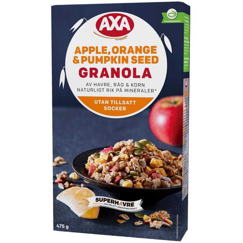 Granola Omena & Appelsiini 475g - 38% alennus