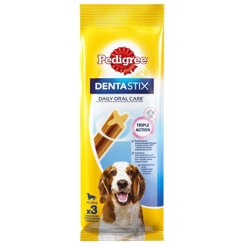 "Koiran Makupalat ""Dentastix Medium"" 77g - 35% alennus"