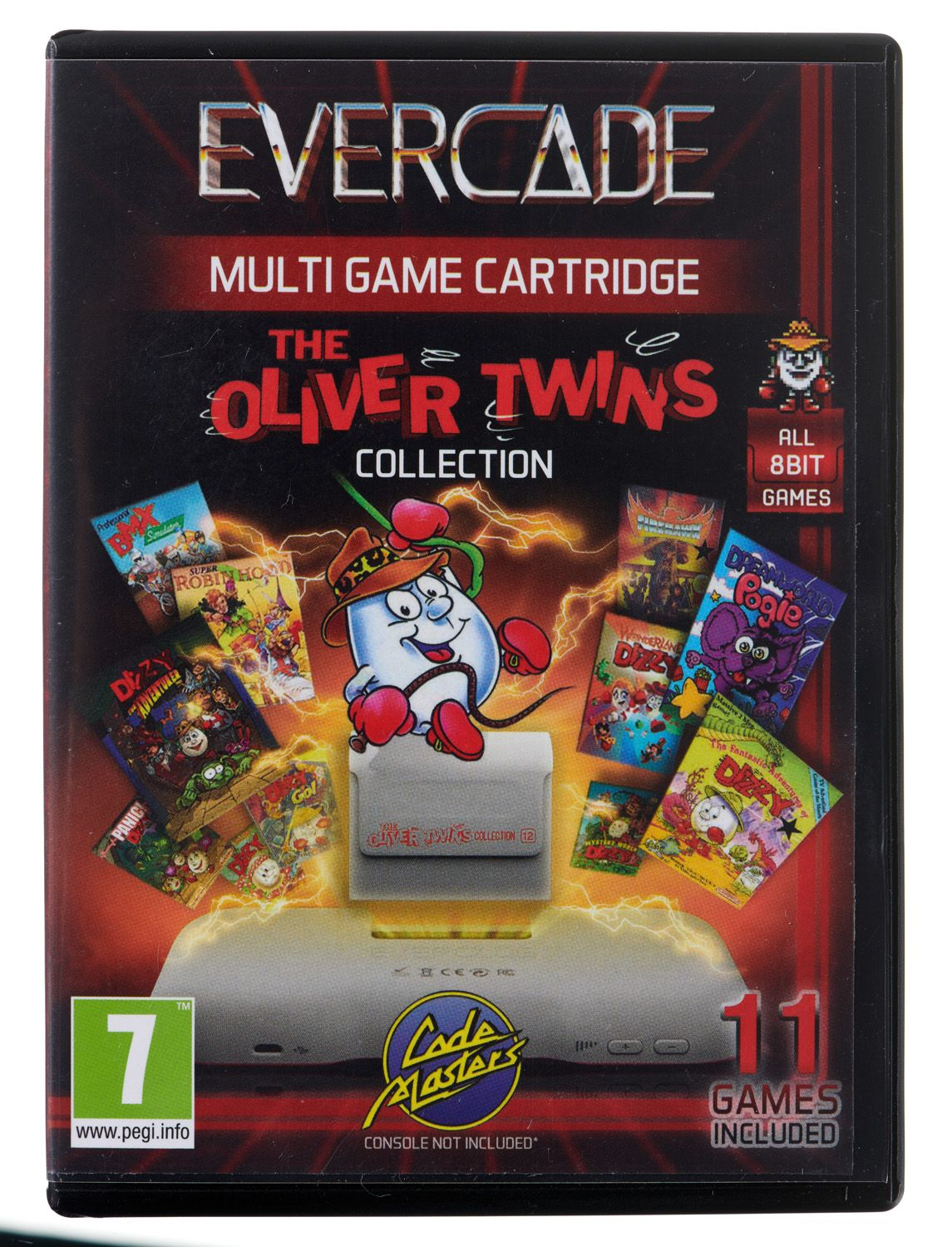 Evercade Oliver Twins Collection 1 Cartridge