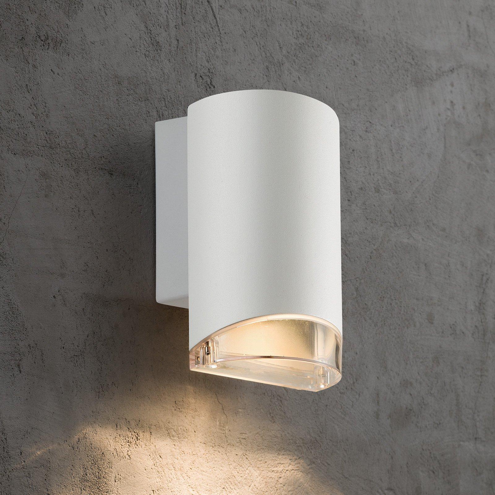 Utendørs vegglampe Arn 1 lyskilde, hvit
