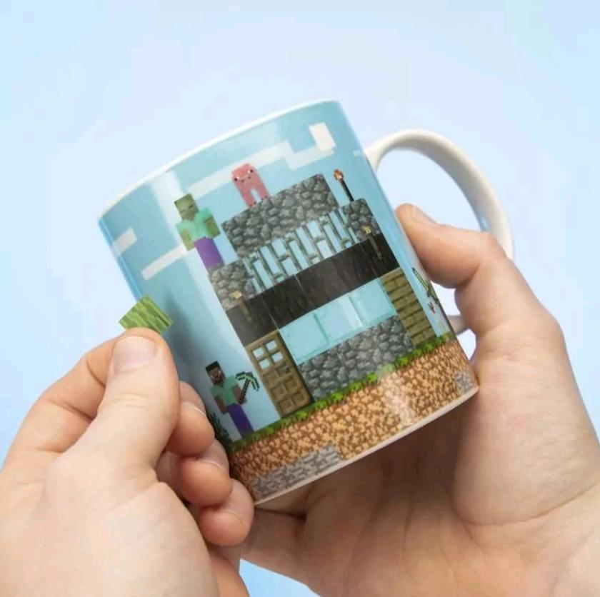 Minecraft - Build a Level Mug (PP6730MCF)