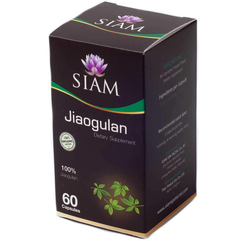 """Kosttillskott """"Jiaogulan"""" 60-pack - 67% rabatt"""