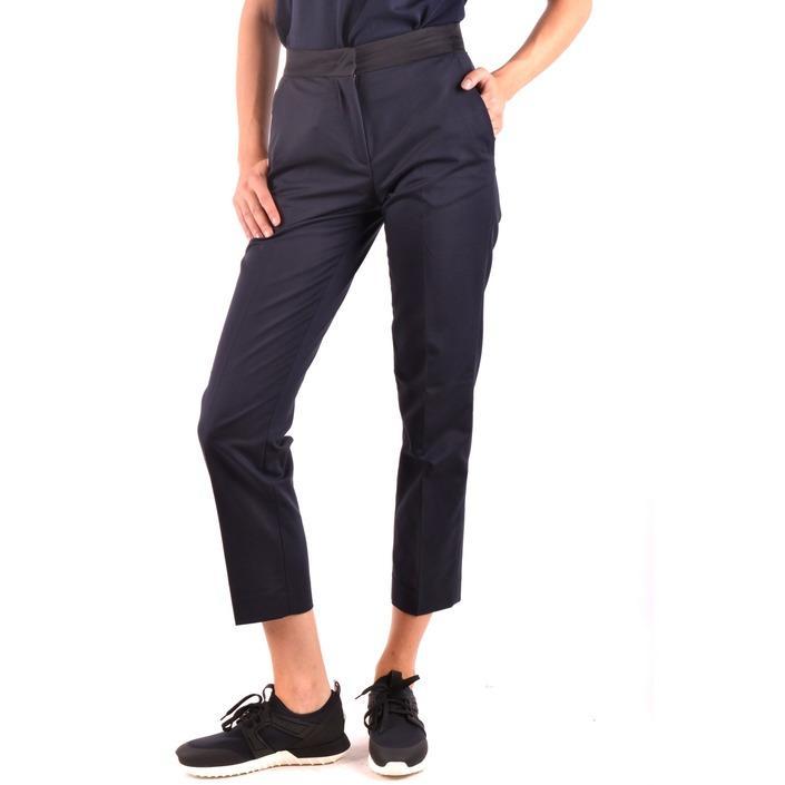 Moncler Women's Trouser Blue 164381 - blue 38