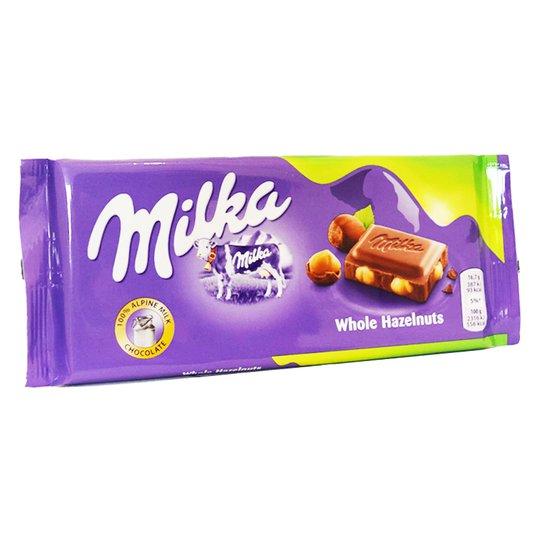 Mjölkchoklad Hel Hasselnöt - 21% rabatt