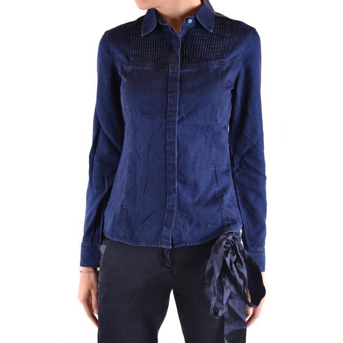 Jacob Cohen Women's Shirt Blue 162944 - blue L
