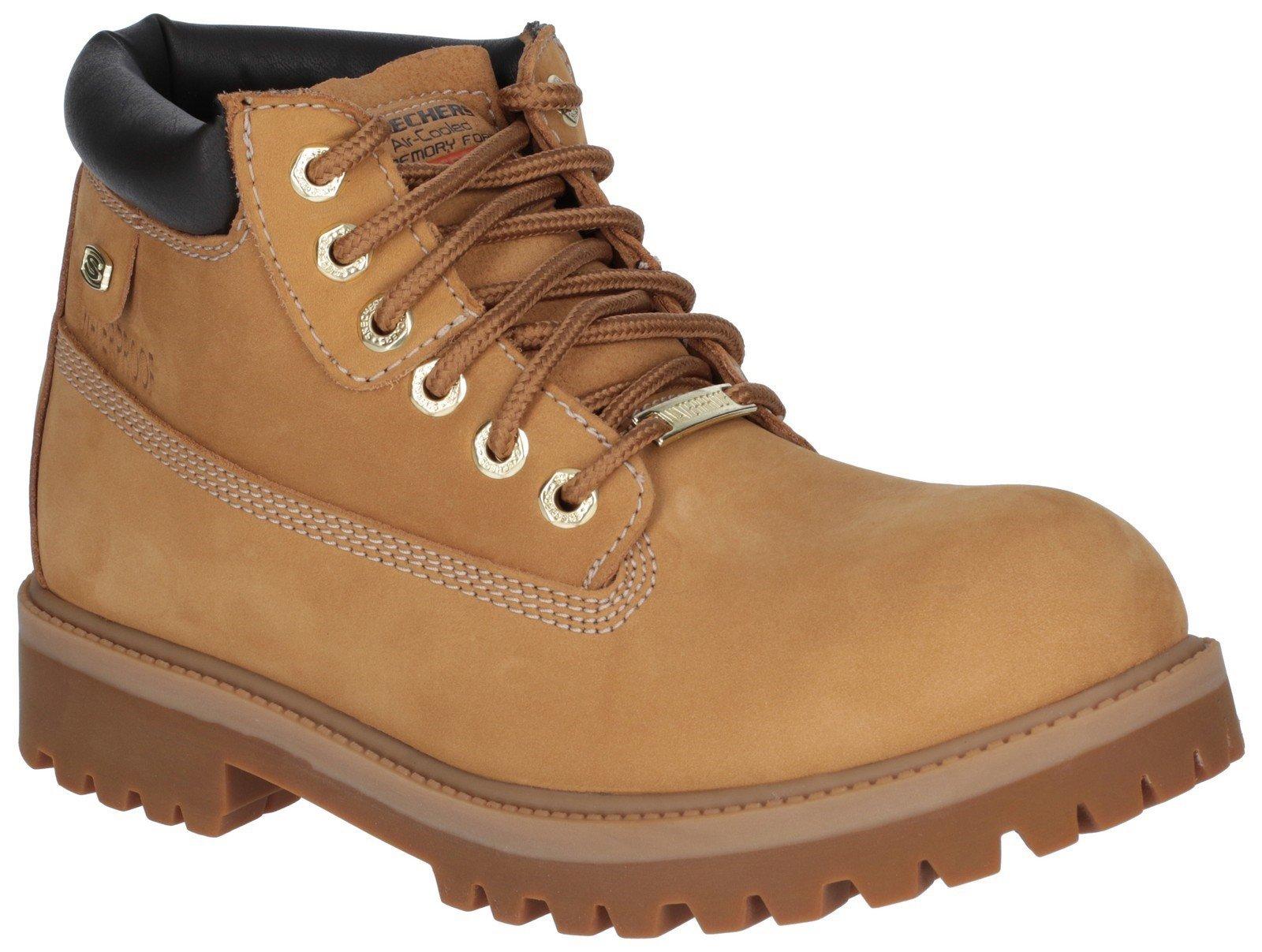 Skechers Unisex Sergeants Verdict Boot Various Colours 18261 - Wheat/Gum 12