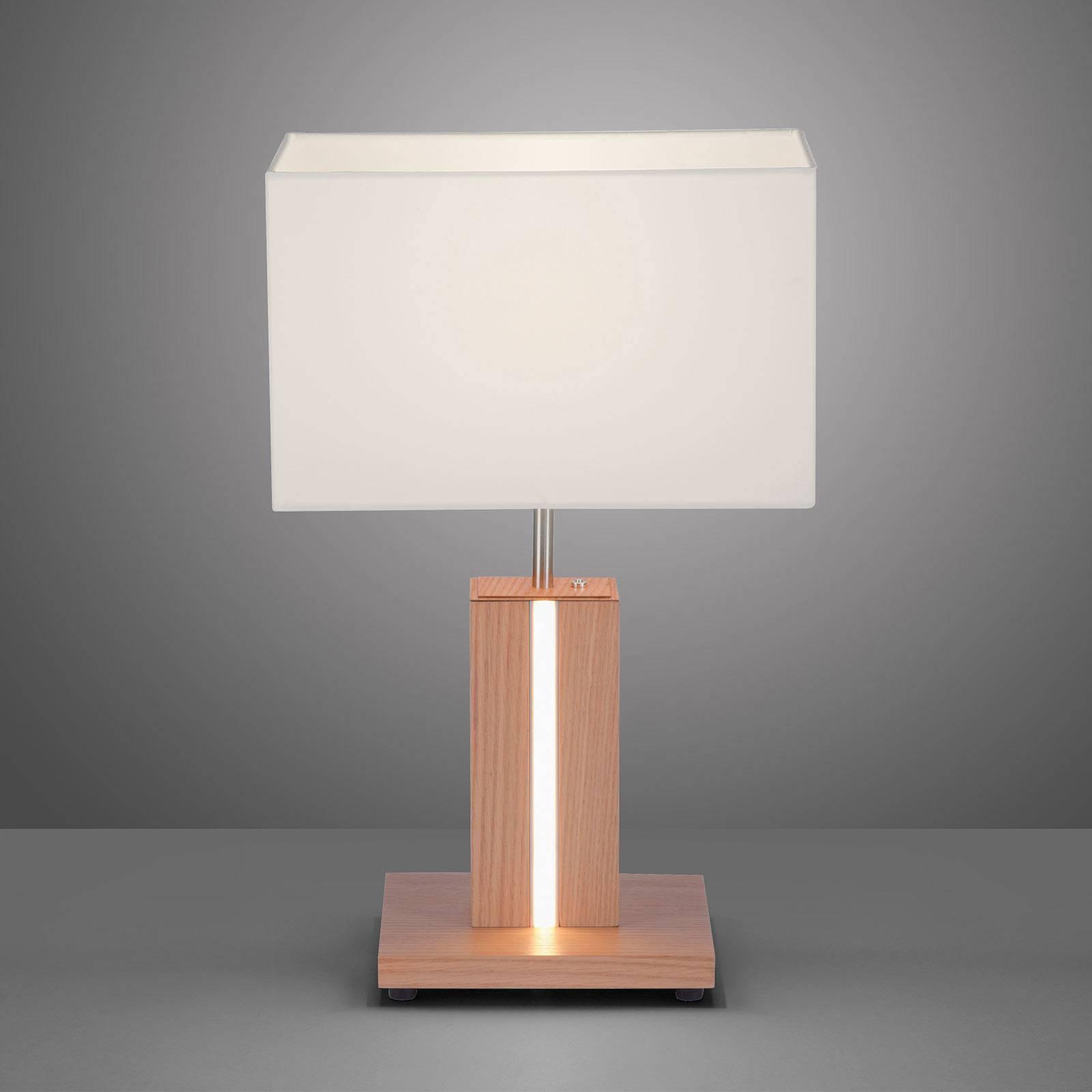 Amanda bordlampe i treutseende 2 lyskilder