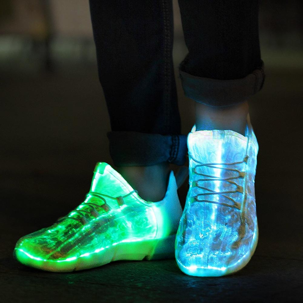 Led Shoes - Fibre Optic - Size 26 (04899.26)