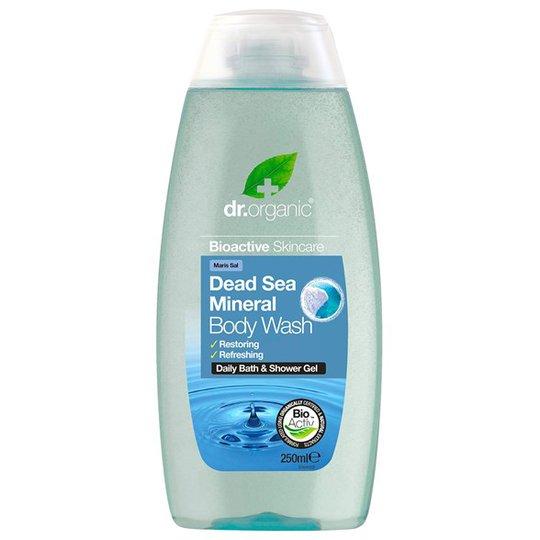 Dr. Organic Dead Sea Mineral Body Wash, 250 ml