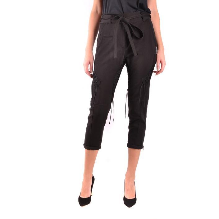 Saint Laurent Women's Trouser Black 187284 - black 36
