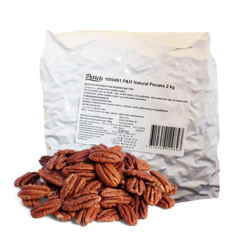 Pekaanipähkinöitä 2kg - 50% alennus