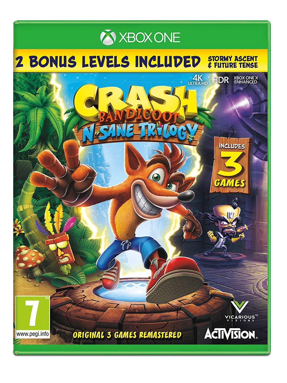 Crash Bandicoot - N'Sane Trilogy Remastered