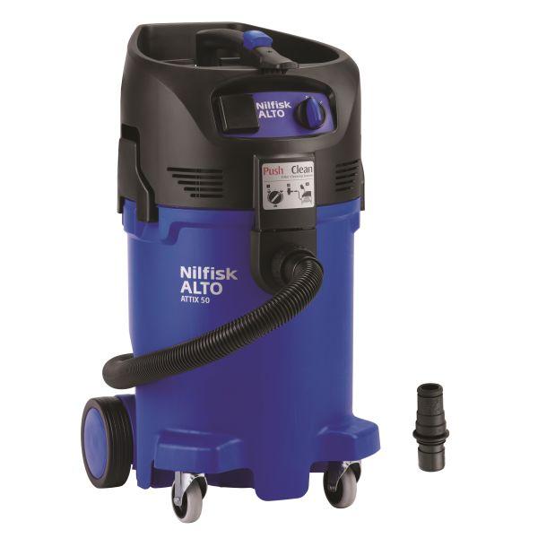 Nilfisk ATTIX 50-21 PC EC Våt- og tørrstøvsuger