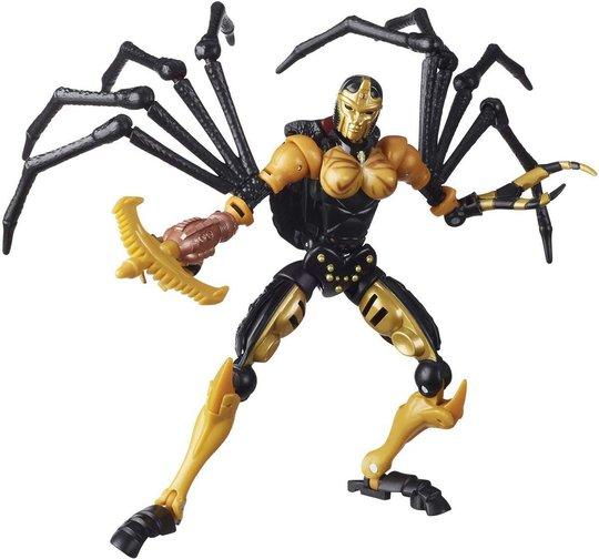 Transformers Figur War for Cybertron: Kingdom Black Arachina Deluxe