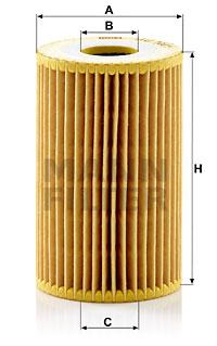 Öljynsuodatin MANN-FILTER HU 7001 x