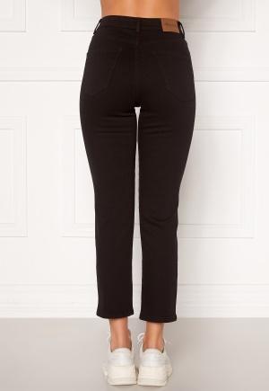 Happy Holly Peggy straight leg jeans Black denim 34
