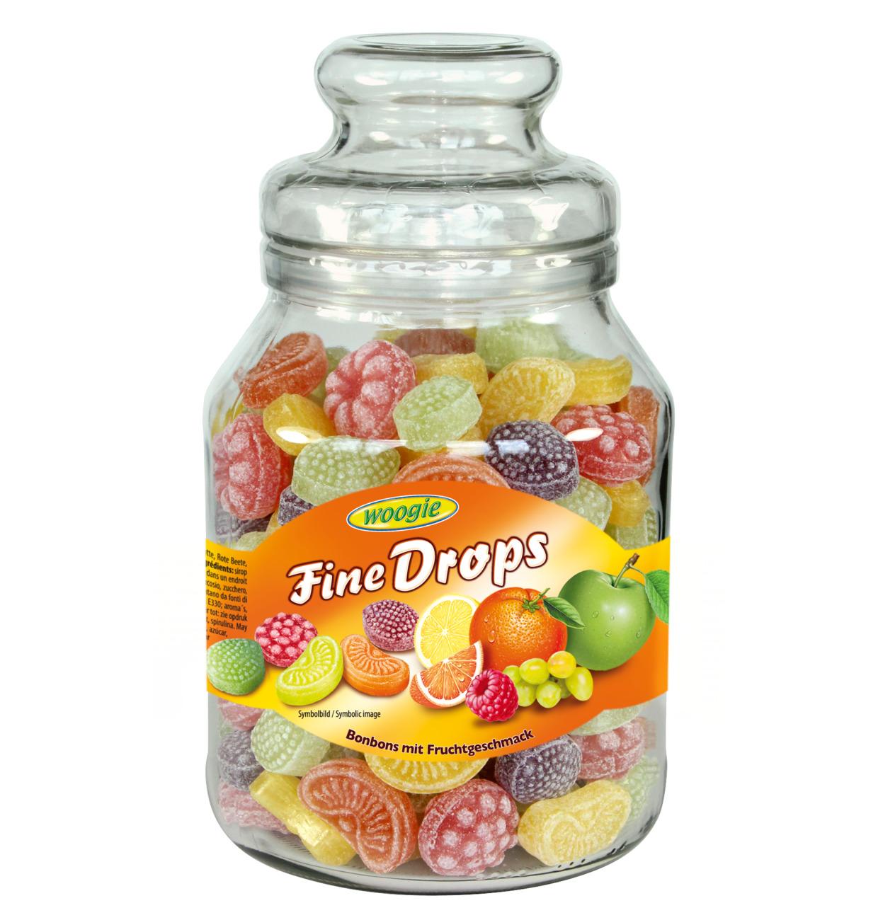 Woogie Fine Drops Fruits mix flavour 966g