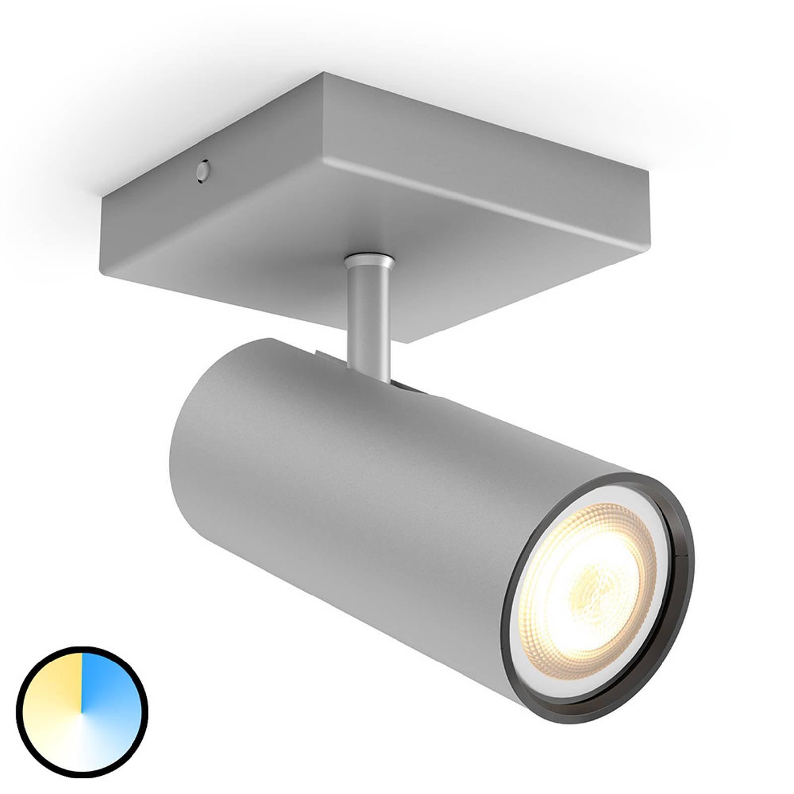 Philips Hue-Buratto LED-spot alu 1lyskilde