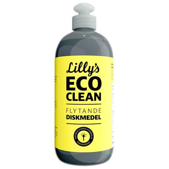 Lillys Eco Clean Flytande Diskmedel med Citronolja, 500 ml