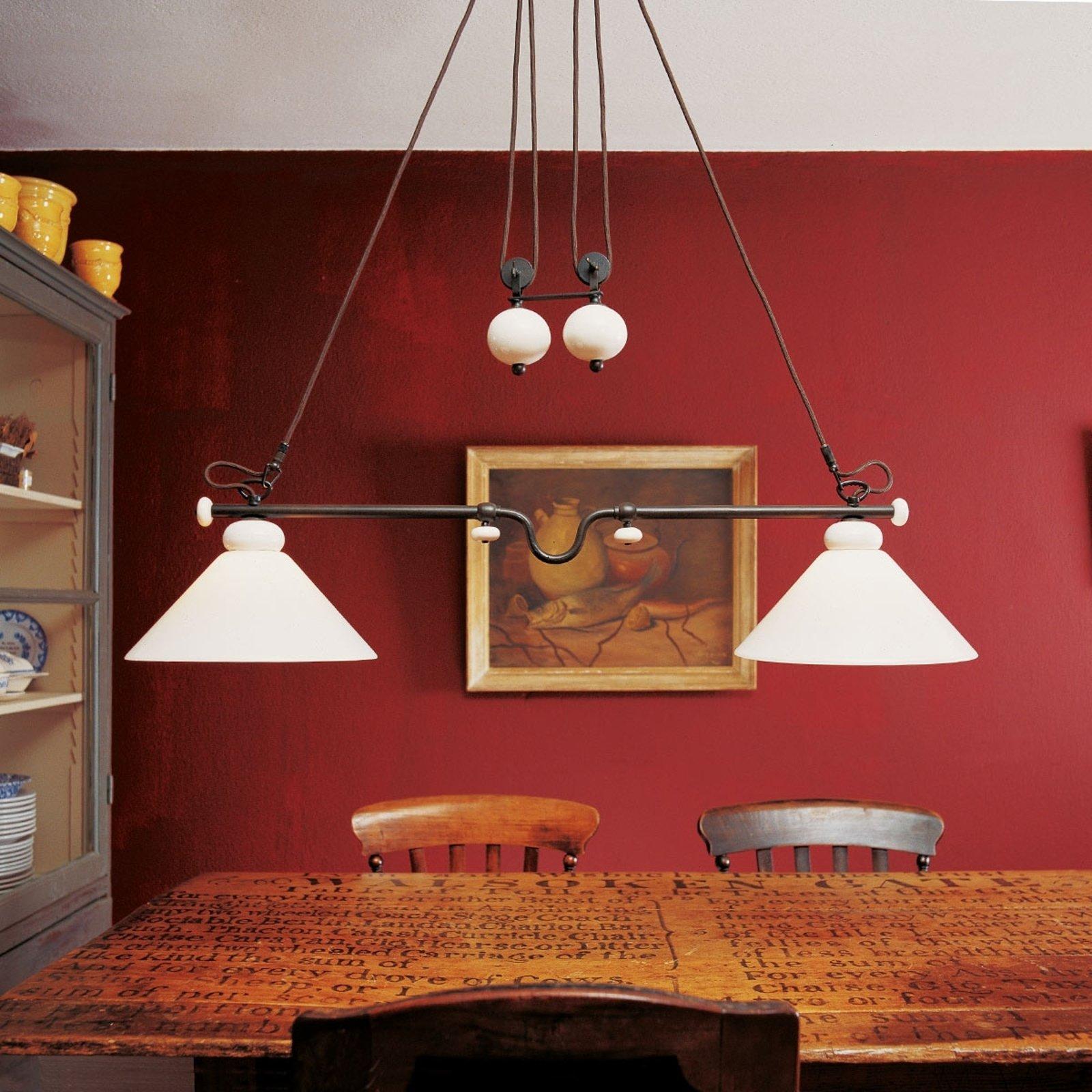 Uttrekkbar pendellampe Provence La Maison