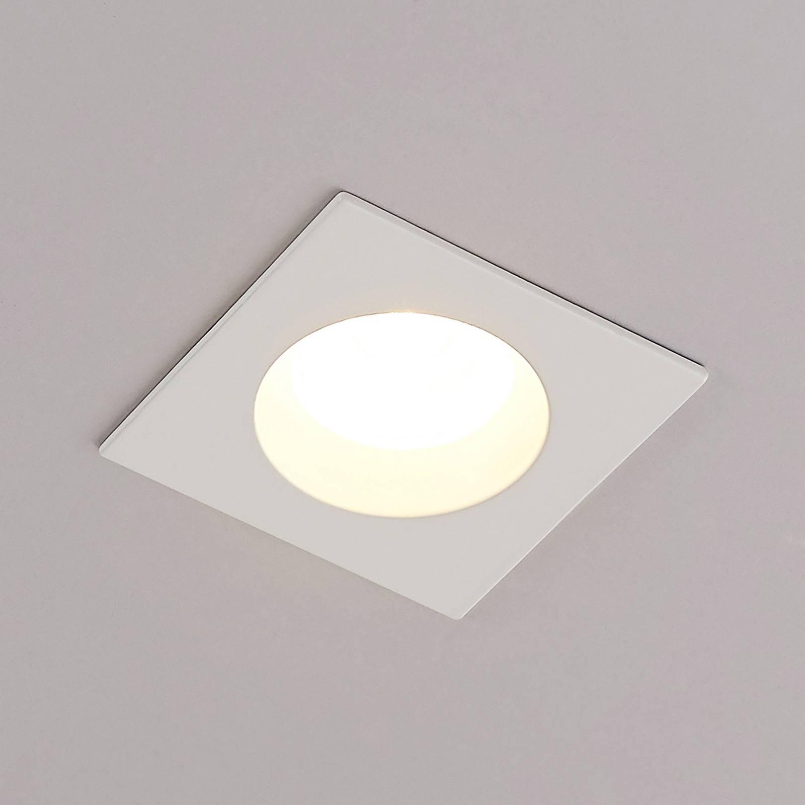 Arcchio Urdin LED-kohdevalo kulmikas IP65, 6,4W